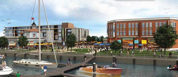 Transit oriented development hingham shipyard hingham for Hingham shipyard