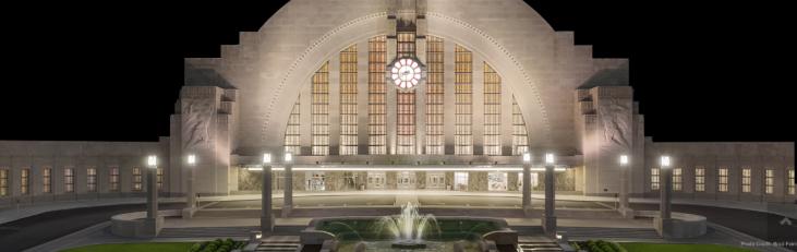 Cincinnatti Union Station @ Night