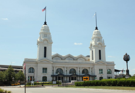 Worcester Union Station View