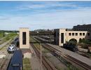 Rear of Utica Station