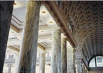 Architectural features: arches and columns