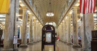 Utica Station Interior